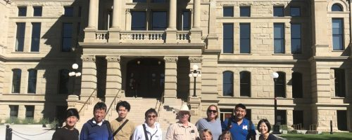 Our US College Admissions Delegation from Japan LOVED their time in Cheyenne and Laramie!